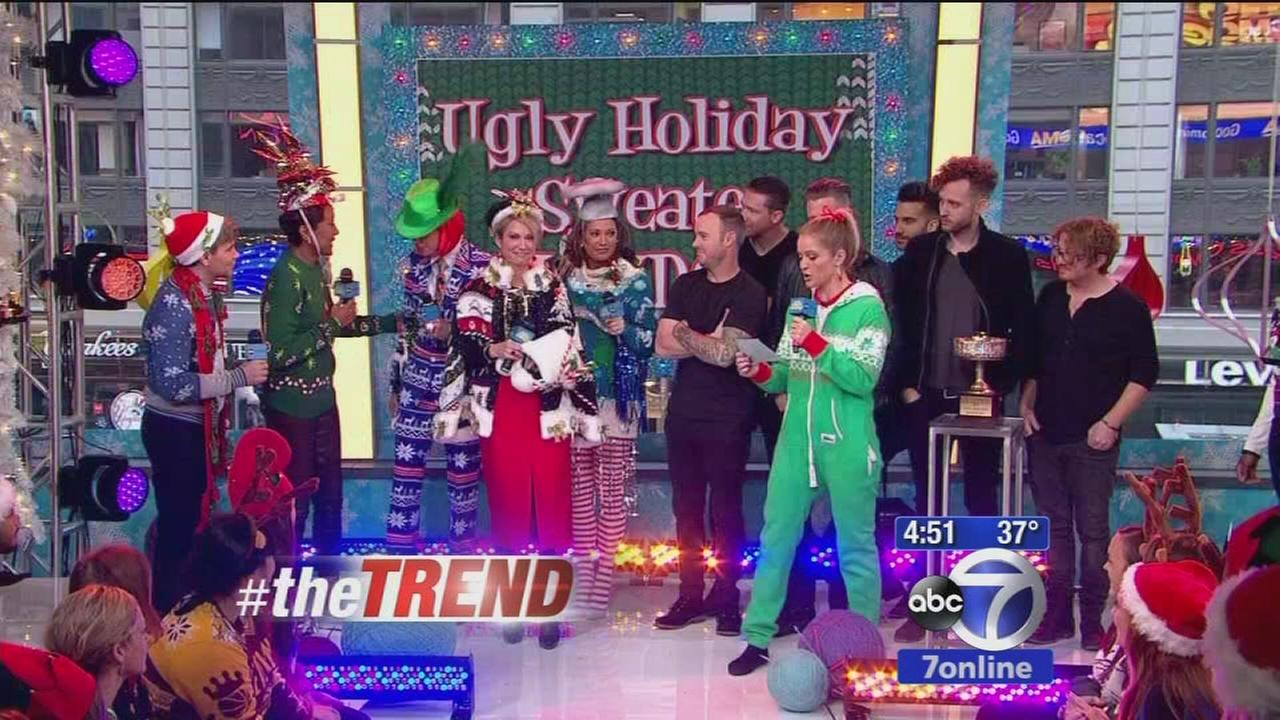 The Trend: National Ugly Holiday Sweater Day