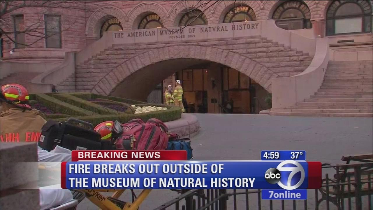 Small fire at Museum of Natural History forced vistors to evacuate