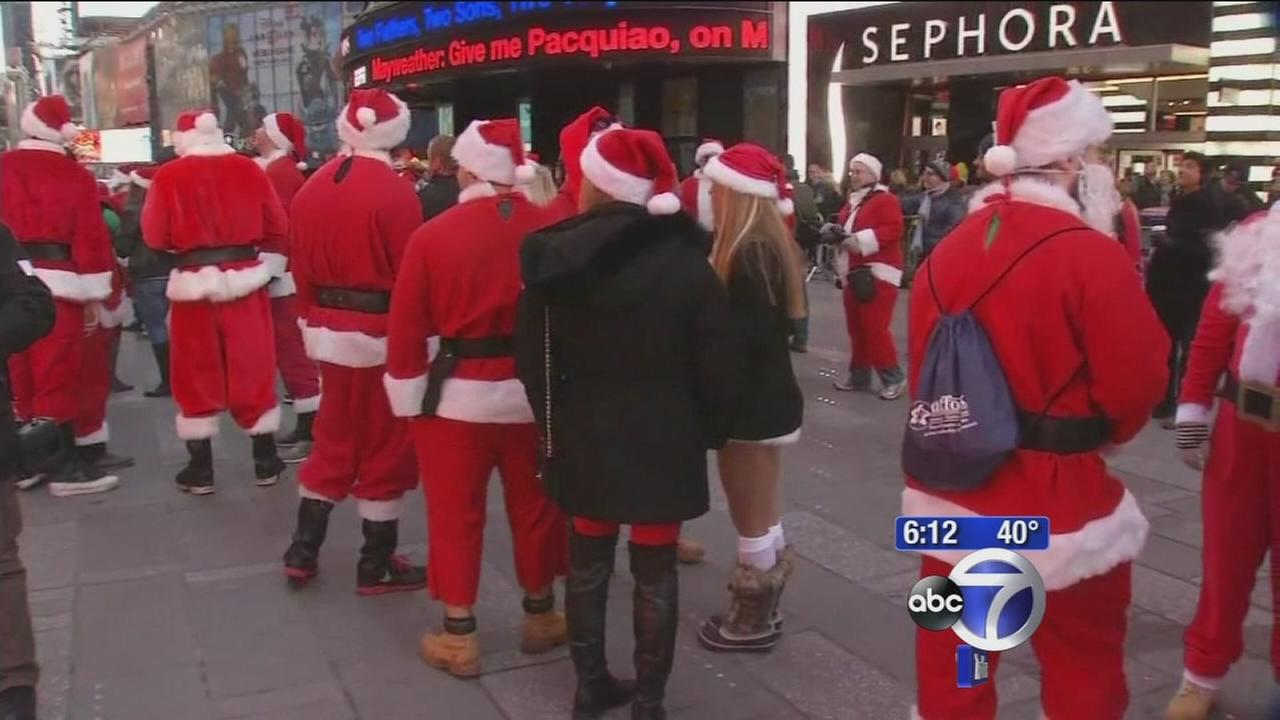 Naughty or Nice? SantaCon kicks off with hopes of less naughtiness