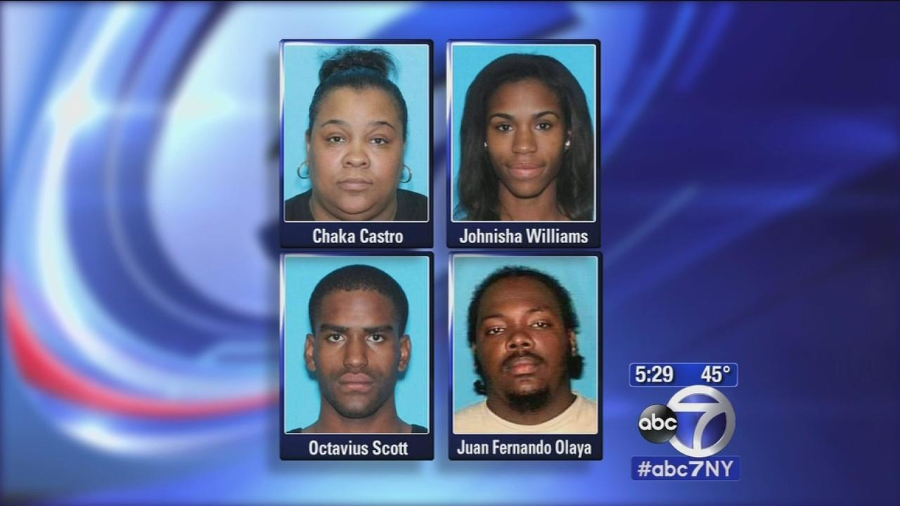Arrests in home invasions in New Jersey