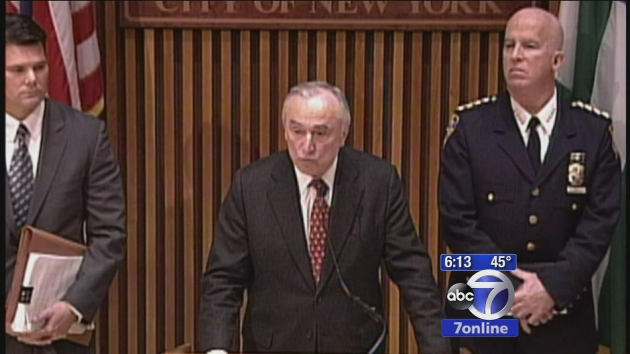 Police Commissioner holds press conference on NYC protests