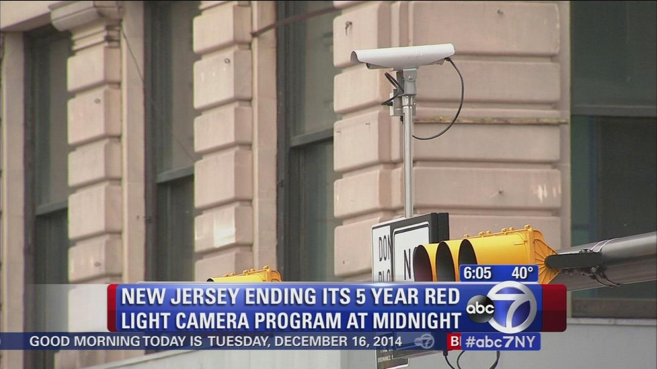 Red light camera experiment comes to an end in NJ