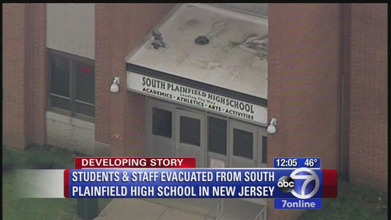 South Plainfield High School evacuated; superintendent says all students, staff are safe