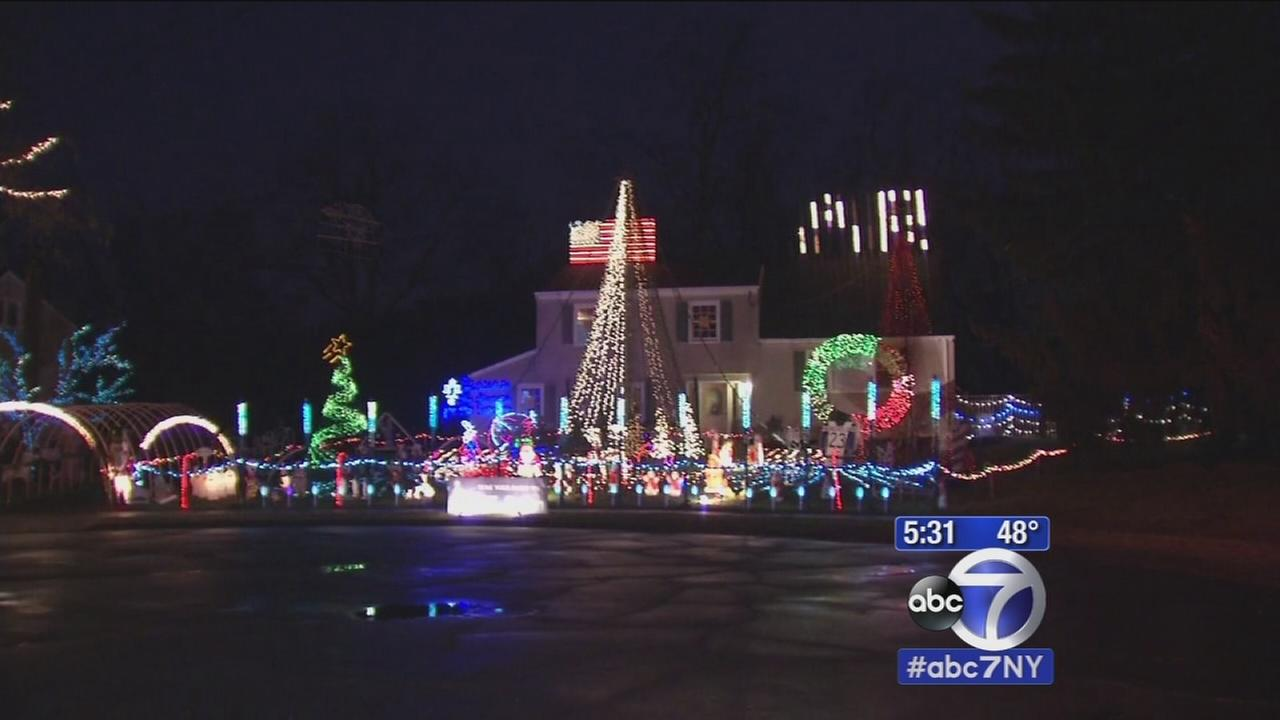 Thieves target NJ holiday lights display