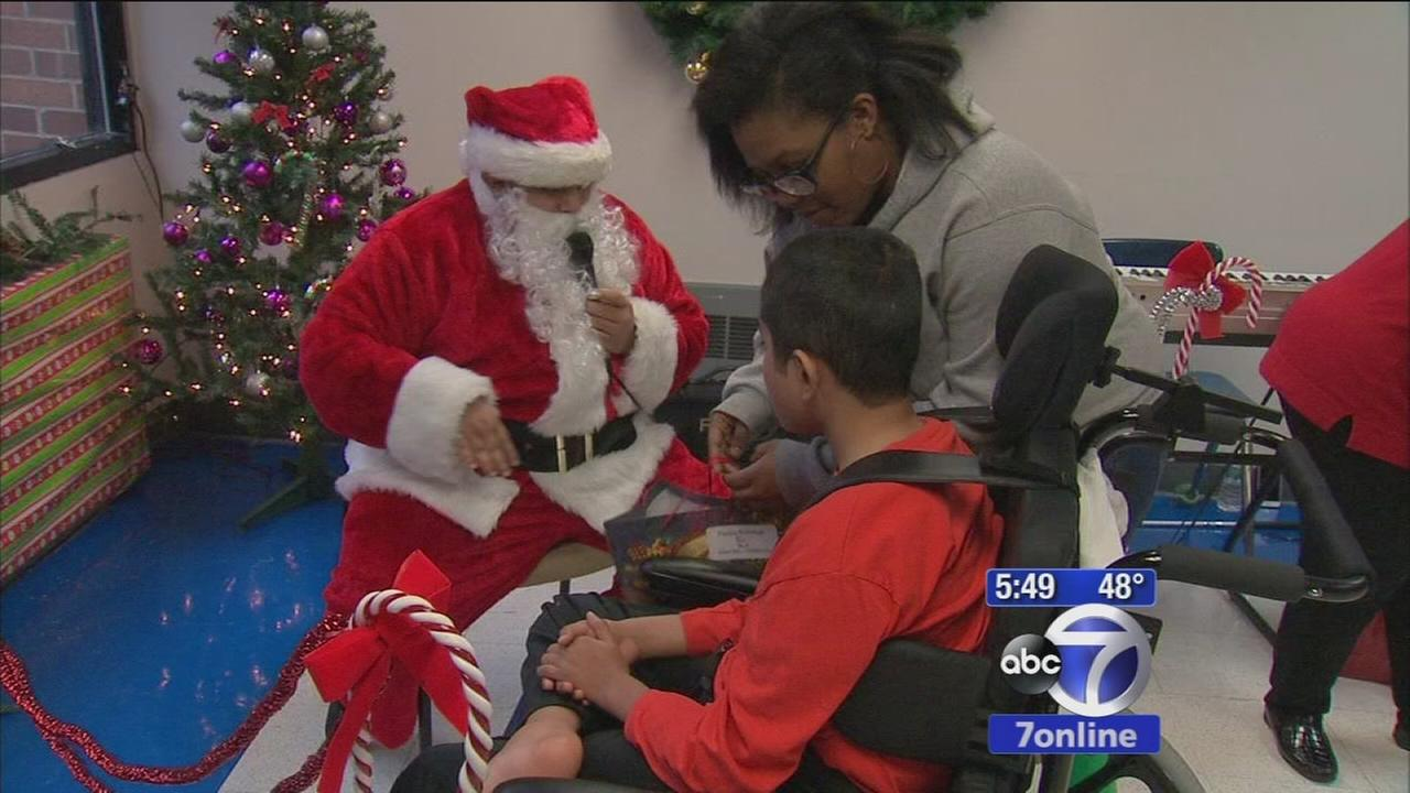 Heartwarming visit from Santa for students