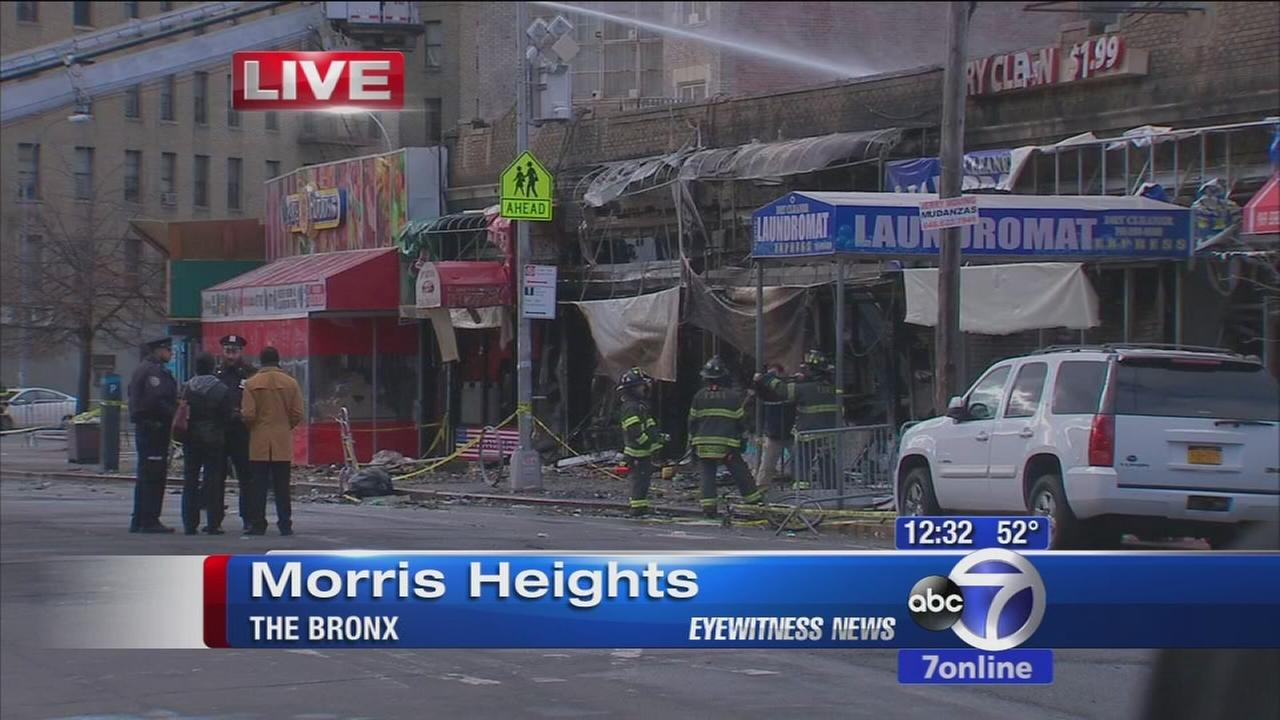 Fire destroys several businesses in Bronx