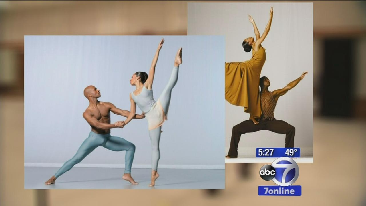 Alvin Ailey dance couple share their love story on stage, at home