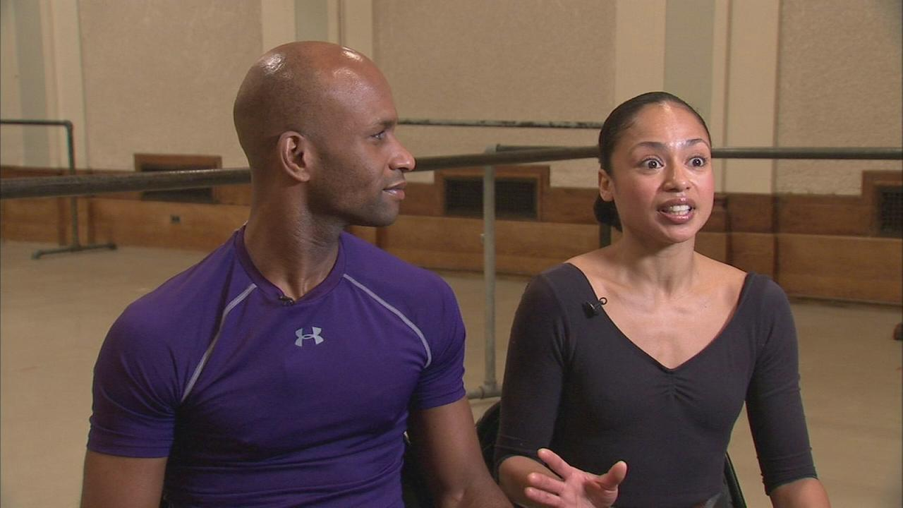 Web Extra: Alvin Ailey dance couple reveal their love story