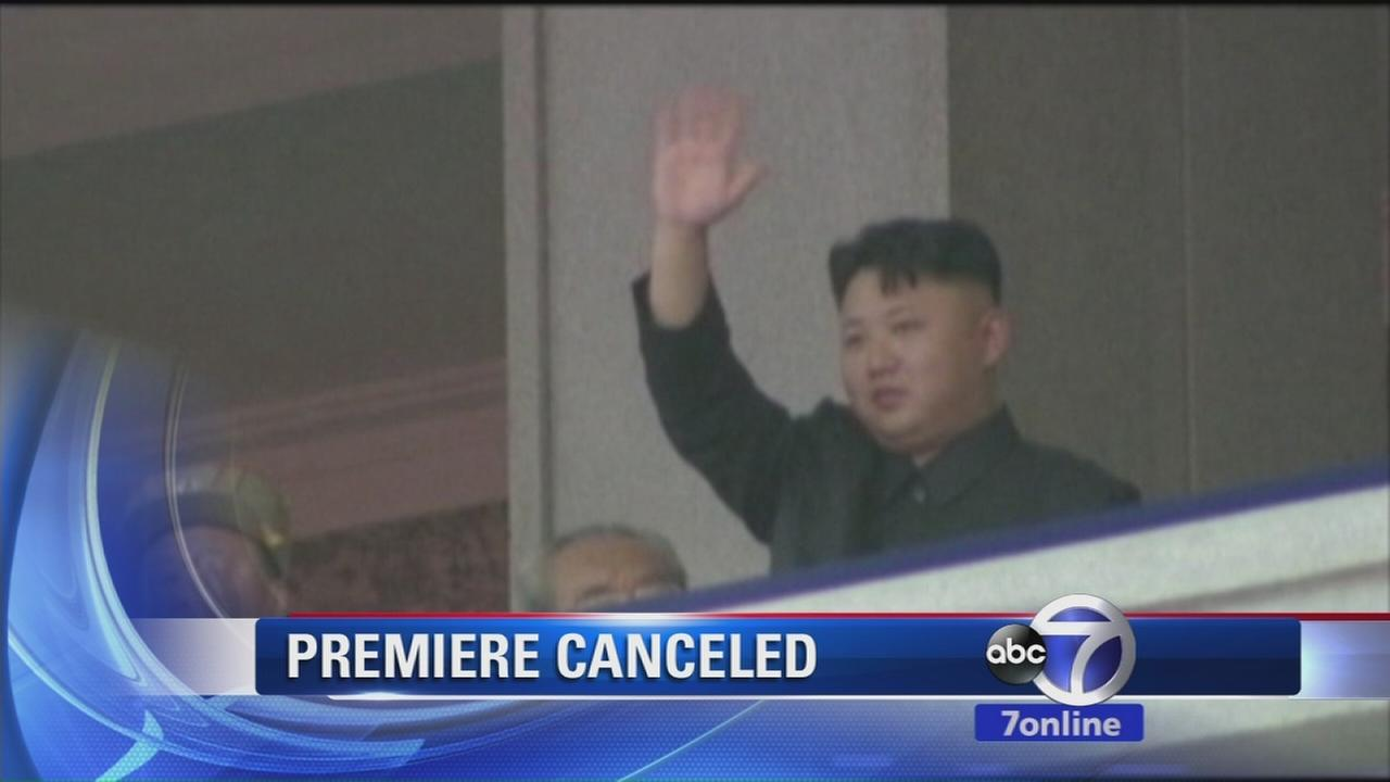Premiere of The Interview canceled by Sony due to threat