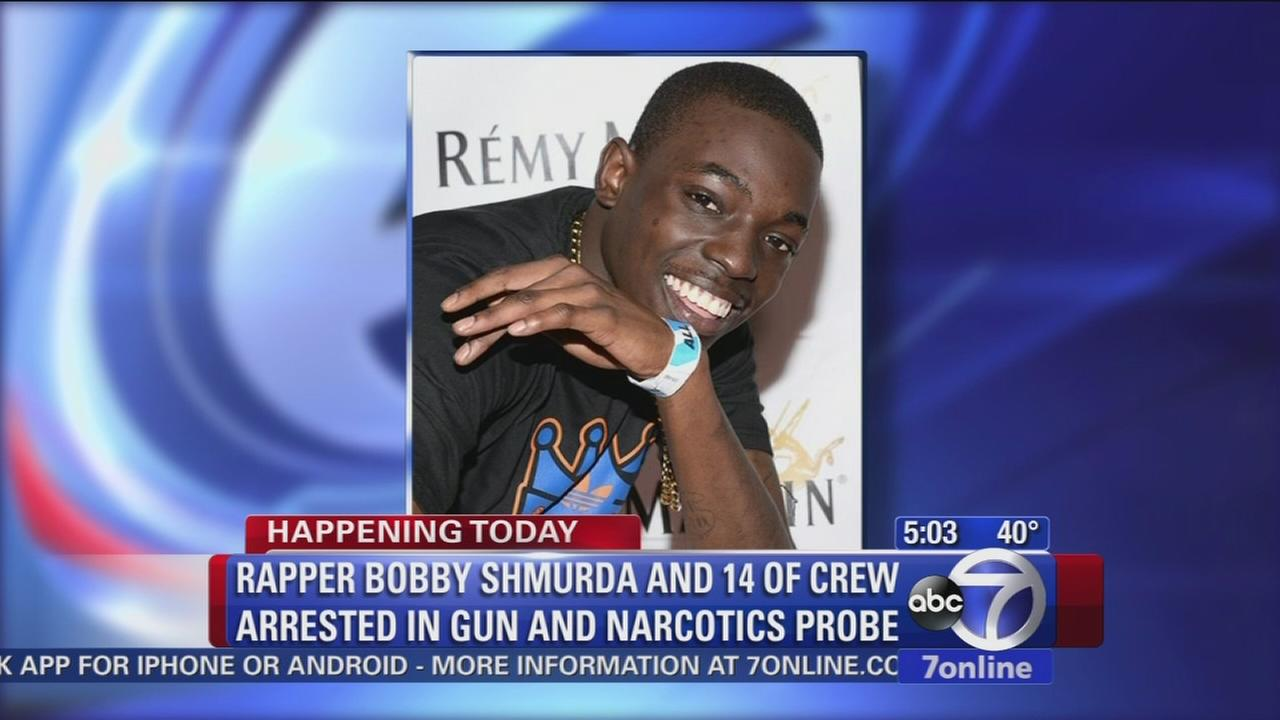 Rapper Bobby Shmurda faces gun, drug charges