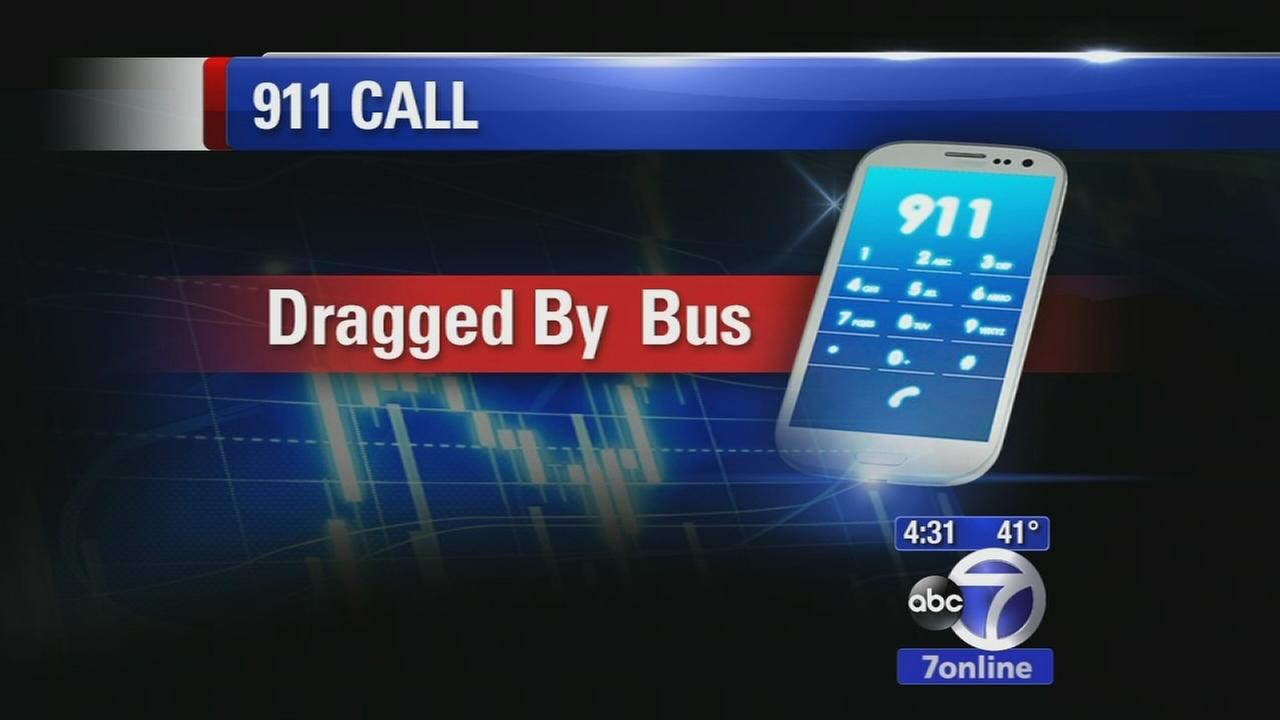 911 calls released in bus accident that dragged man underneath for a mile, killed his dog