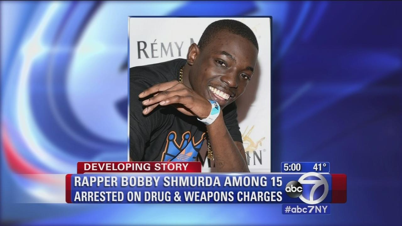 Rising rapper Bobby Shmurda held on $2 million bail after arrest on drug, weapon charges