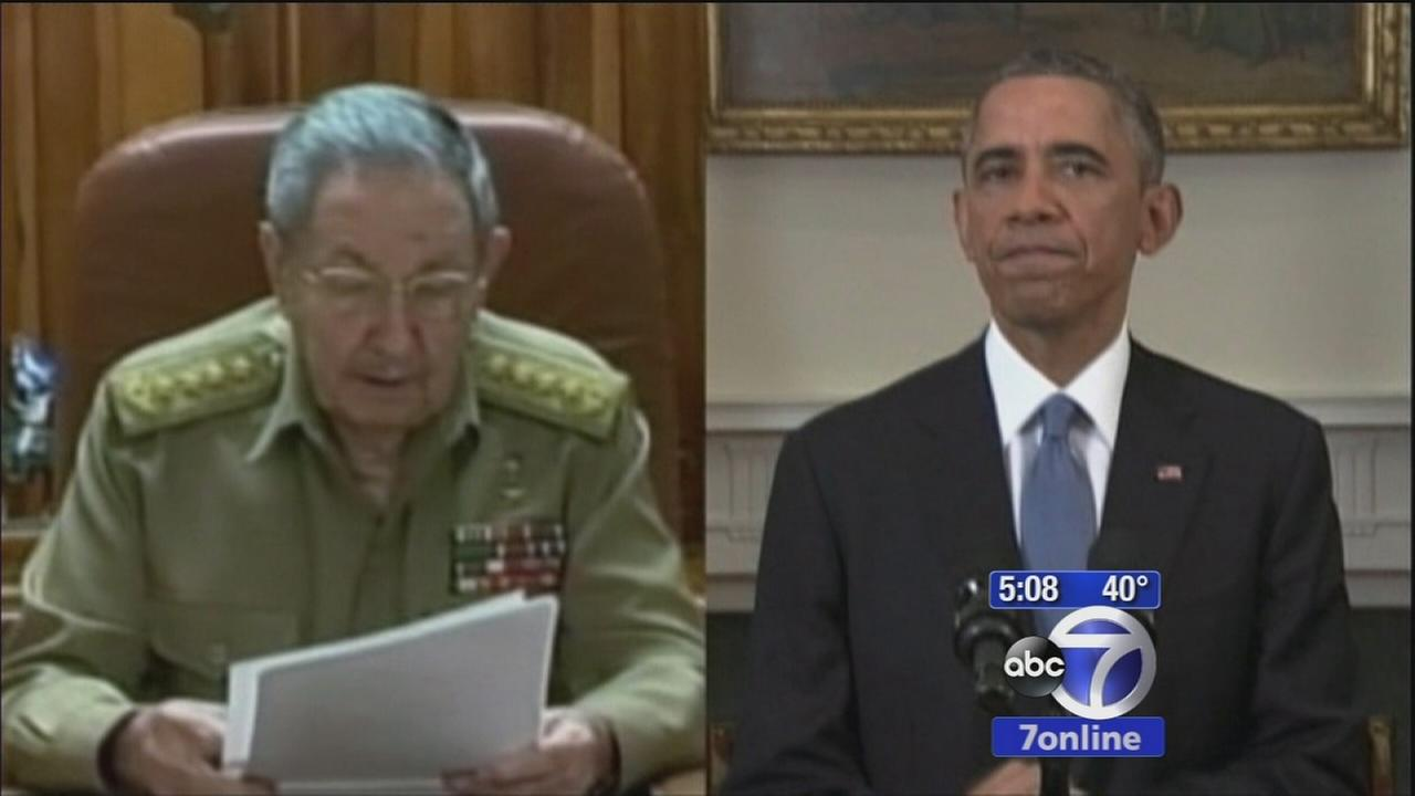 President Obamas decision to renew relations with Cuba ignites political debate