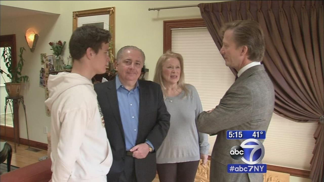 Long Island family finally reunited with adopted son from Ukraine