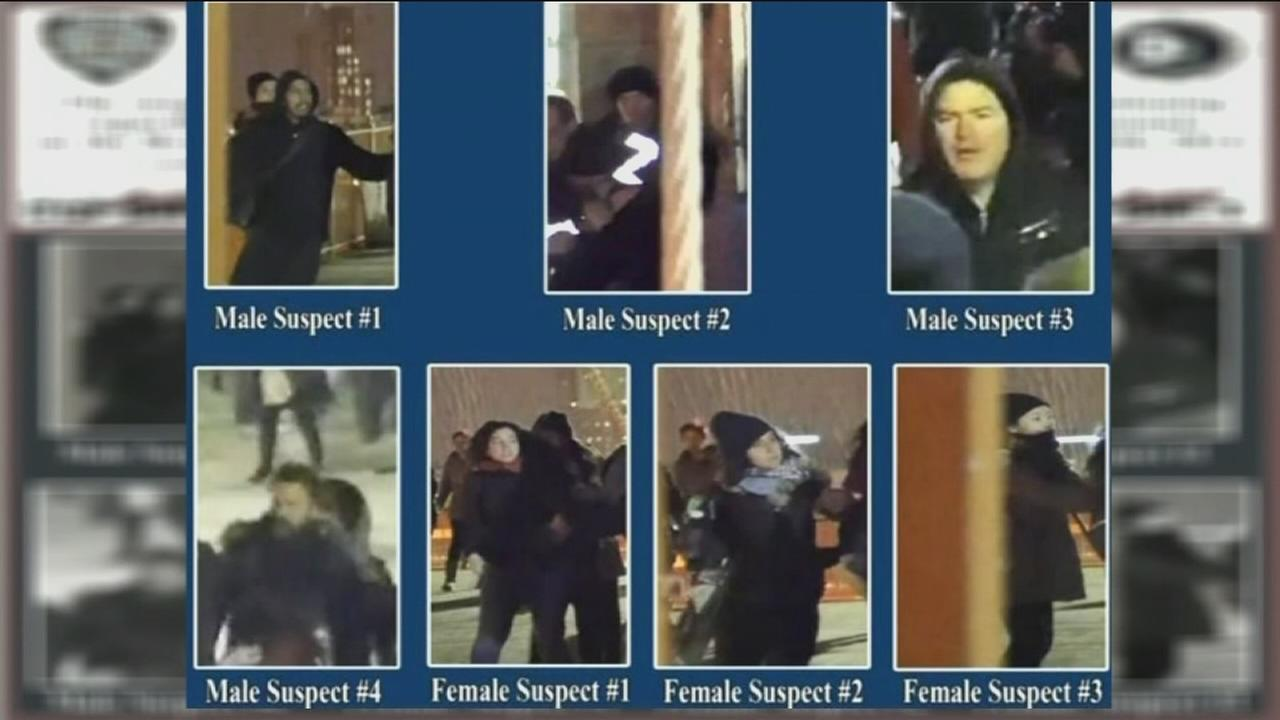 NYPD ups reward for helping find suspects in Brooklyn Bridge assault against police
