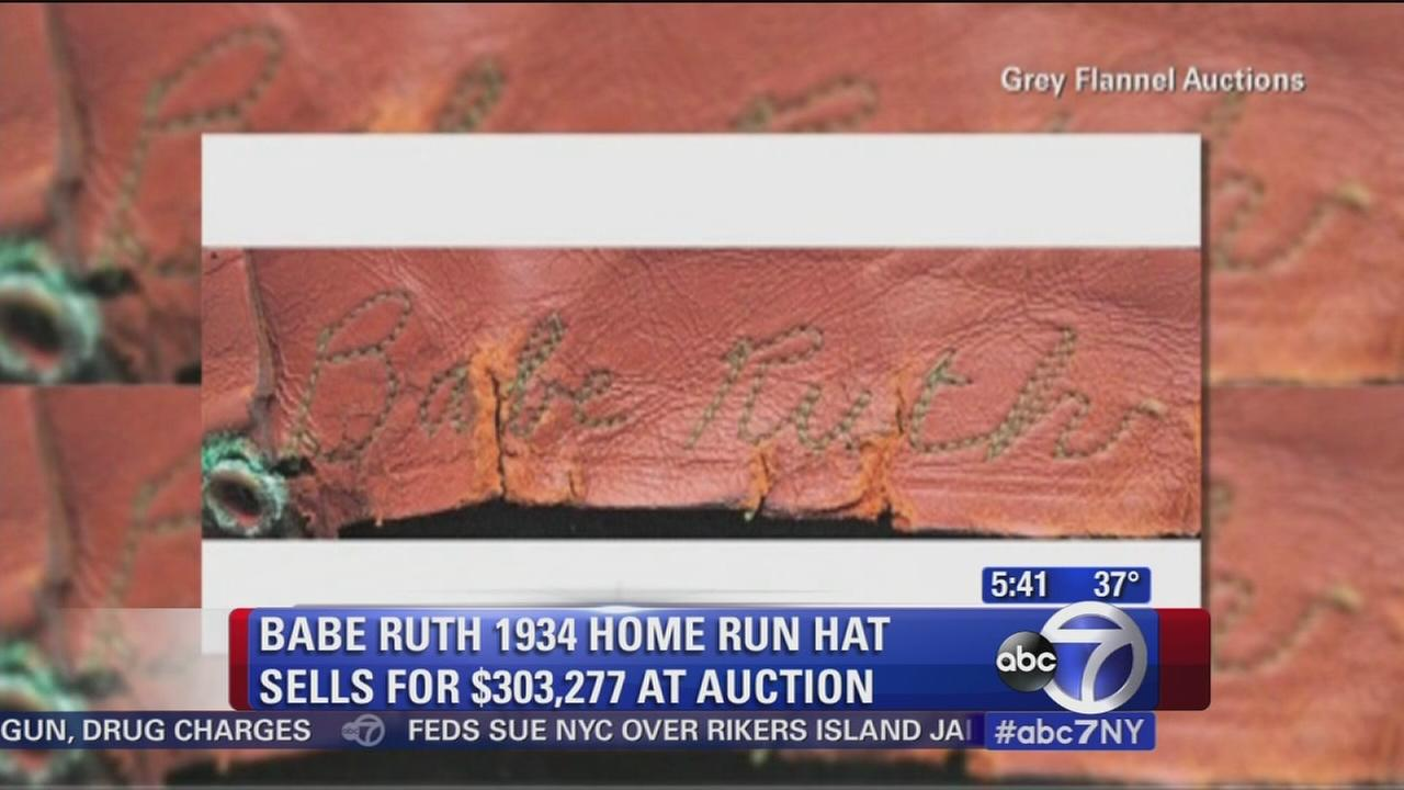 Babe Ruth hat auctioned