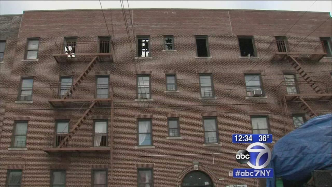 Dozens of Queens residents homeless after 5-alarm fire torches their homes