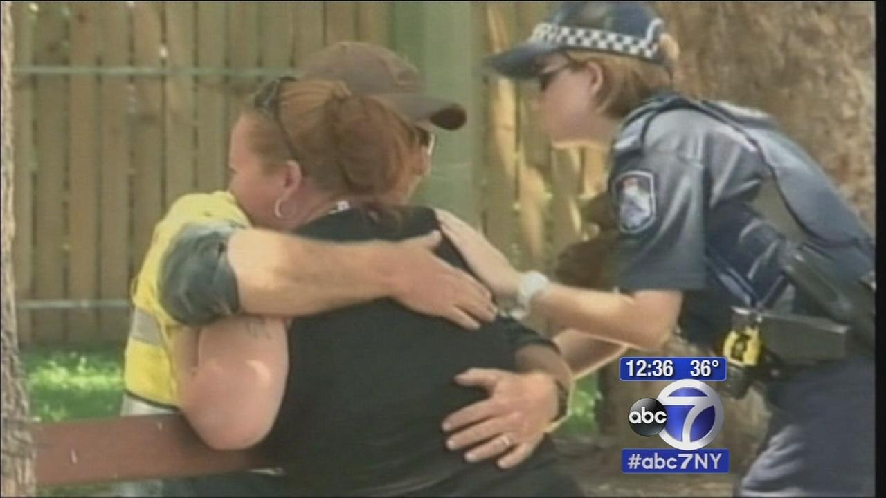 8 children dead, stabbed mother found inside home in Australia