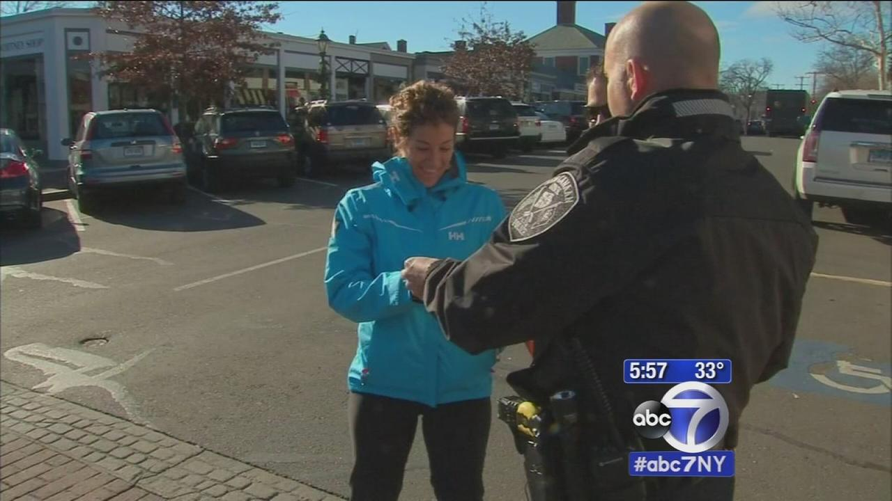CT Police department surprises residents with gifts