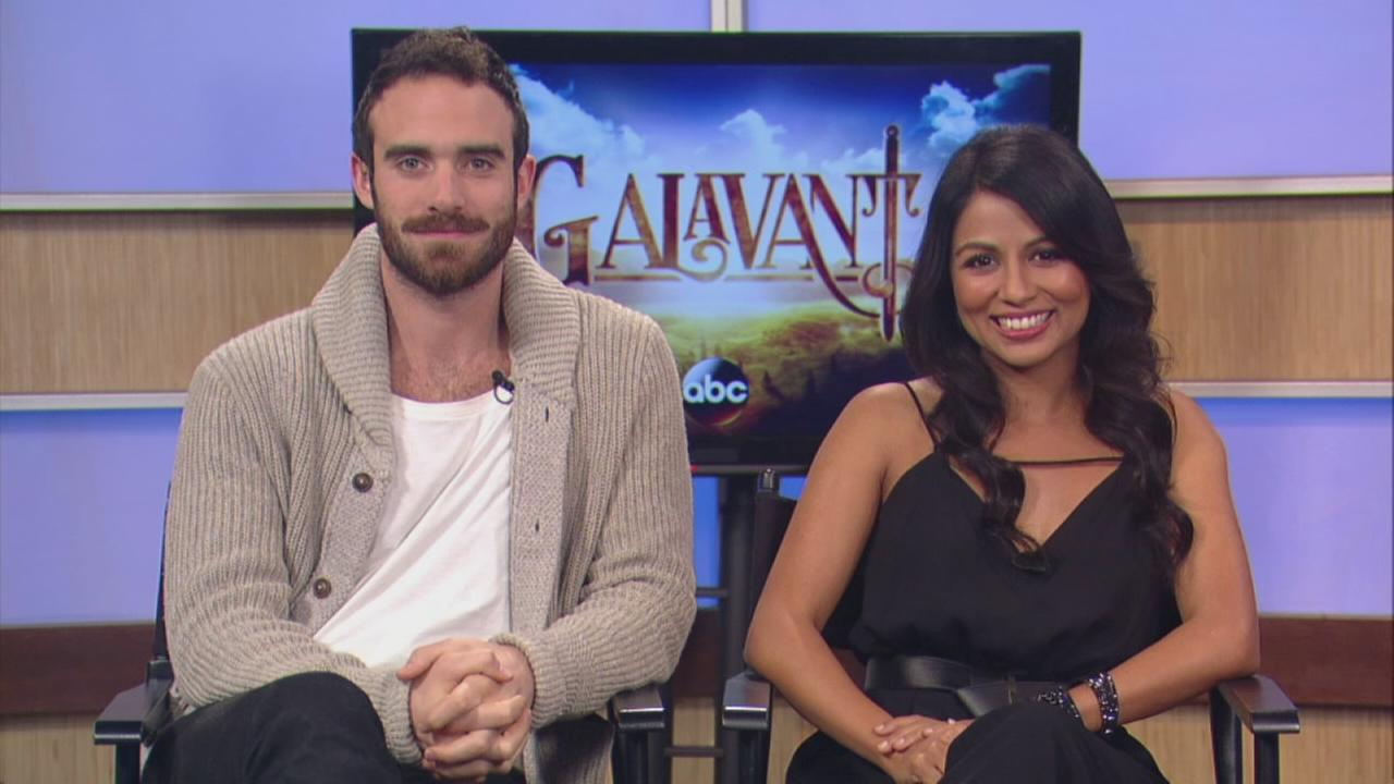 Stars of Galavant talk about the shows premiere