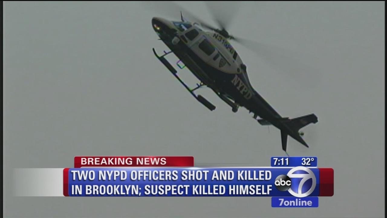 Suspect in NYPD shooting fatally shot himself, authorities say