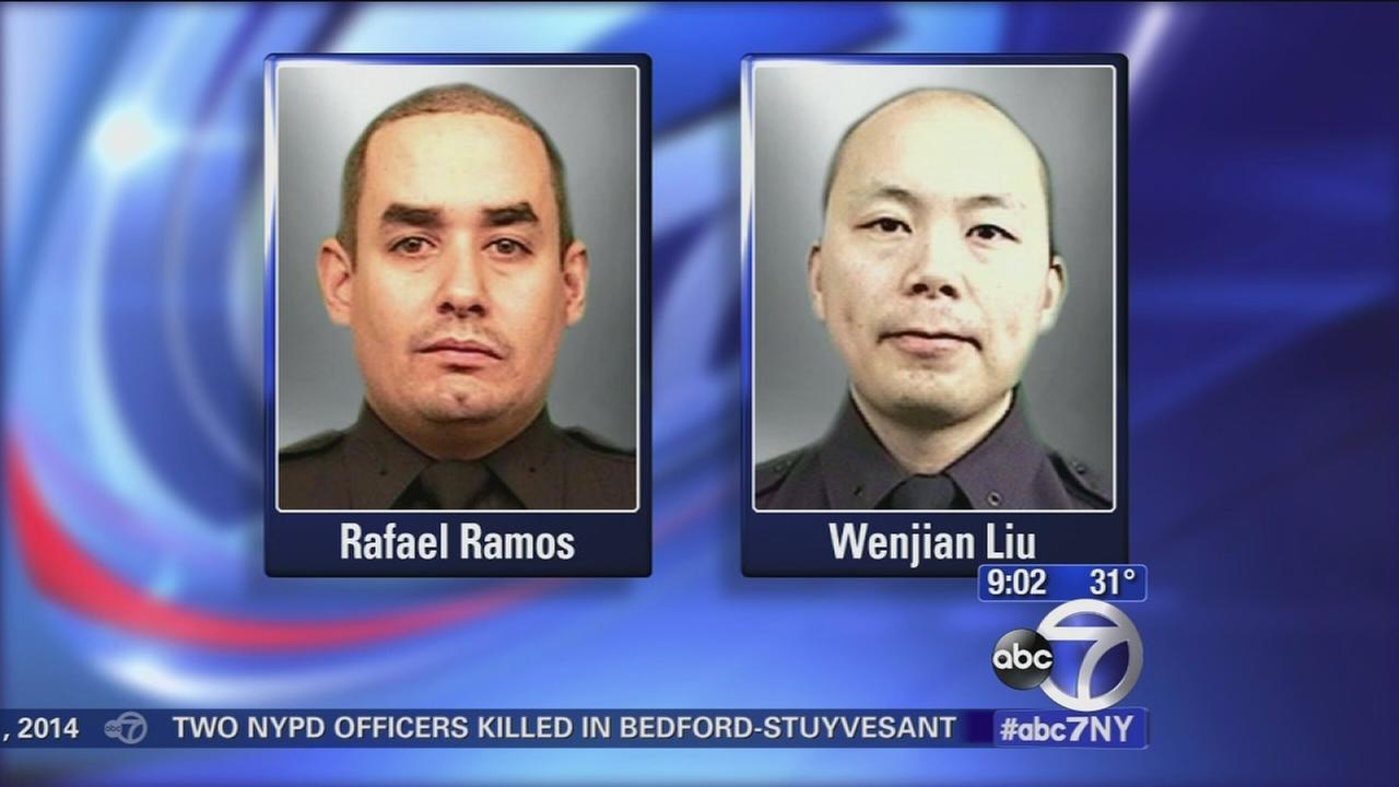 2 NYPD officers killed in the line of duty