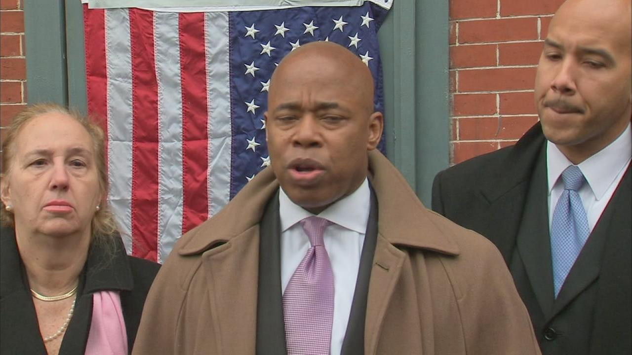 Borough presidents react to killings of NYPD officers