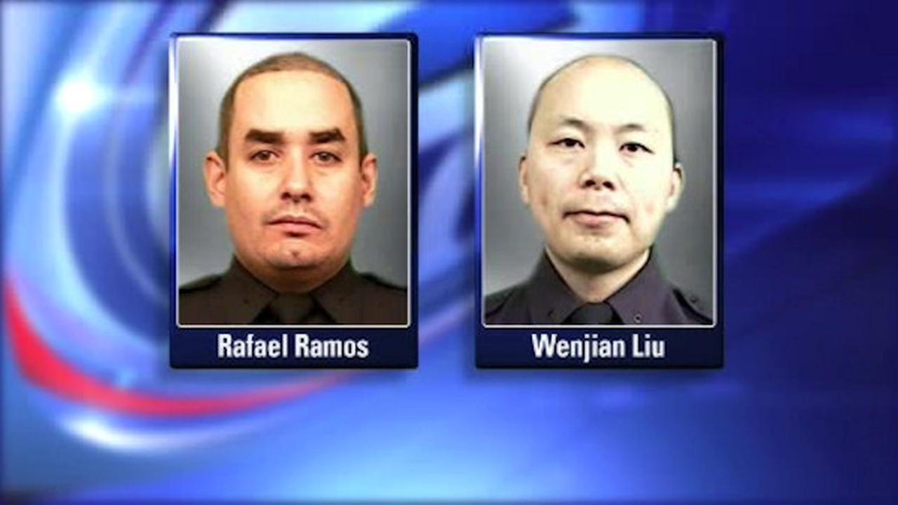 2 nypd officers killed