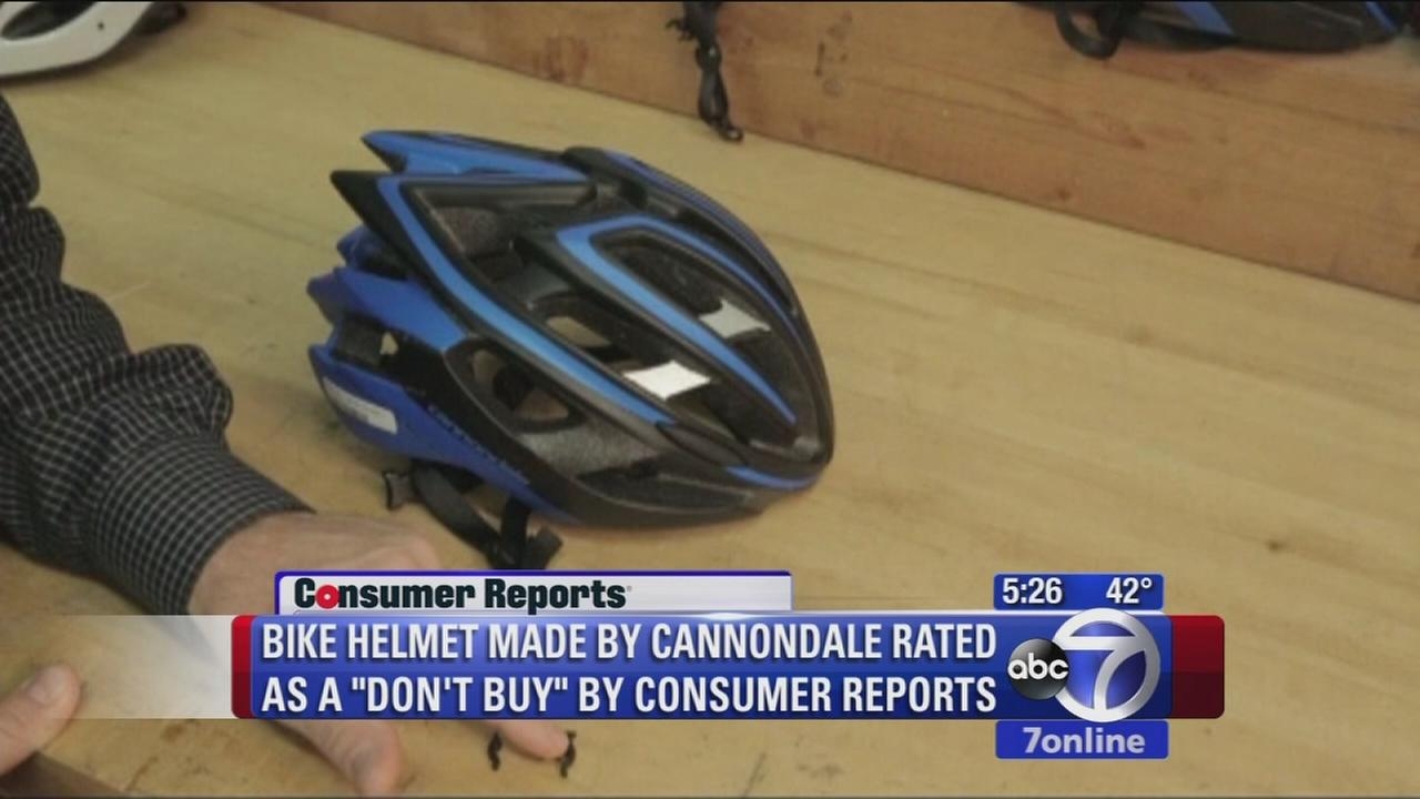 Strap flaw found by Consumer Reports with Cannondale bike helmet