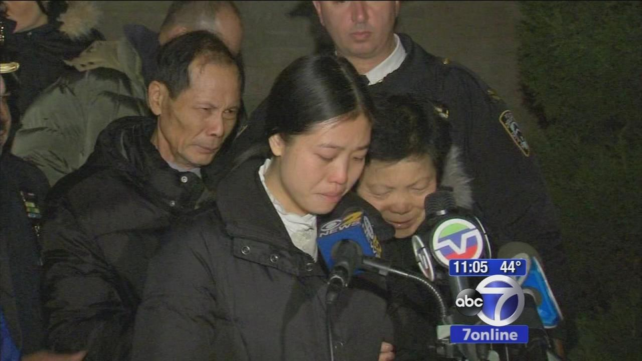 Liu family speaks out about officers murder