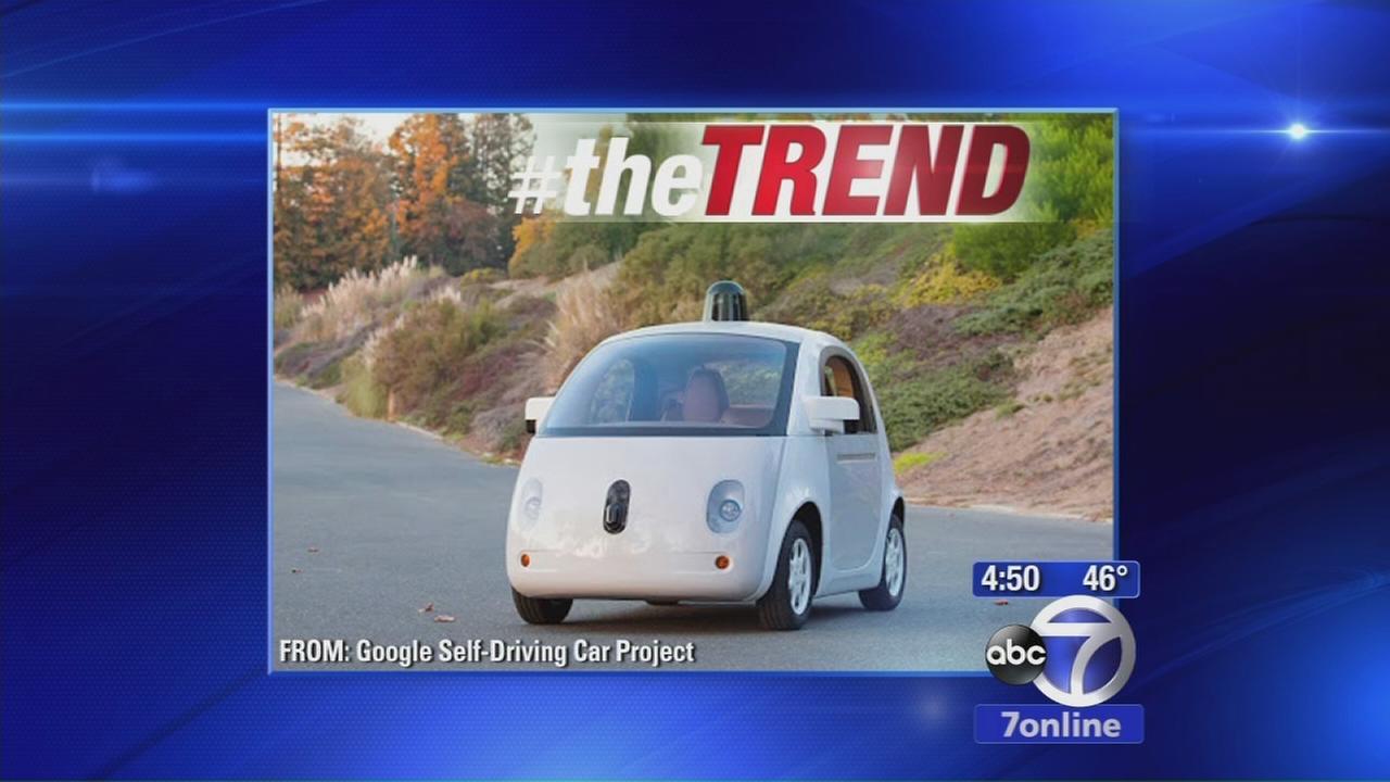 The Trend: Google unveils prototype for car that drives by itself