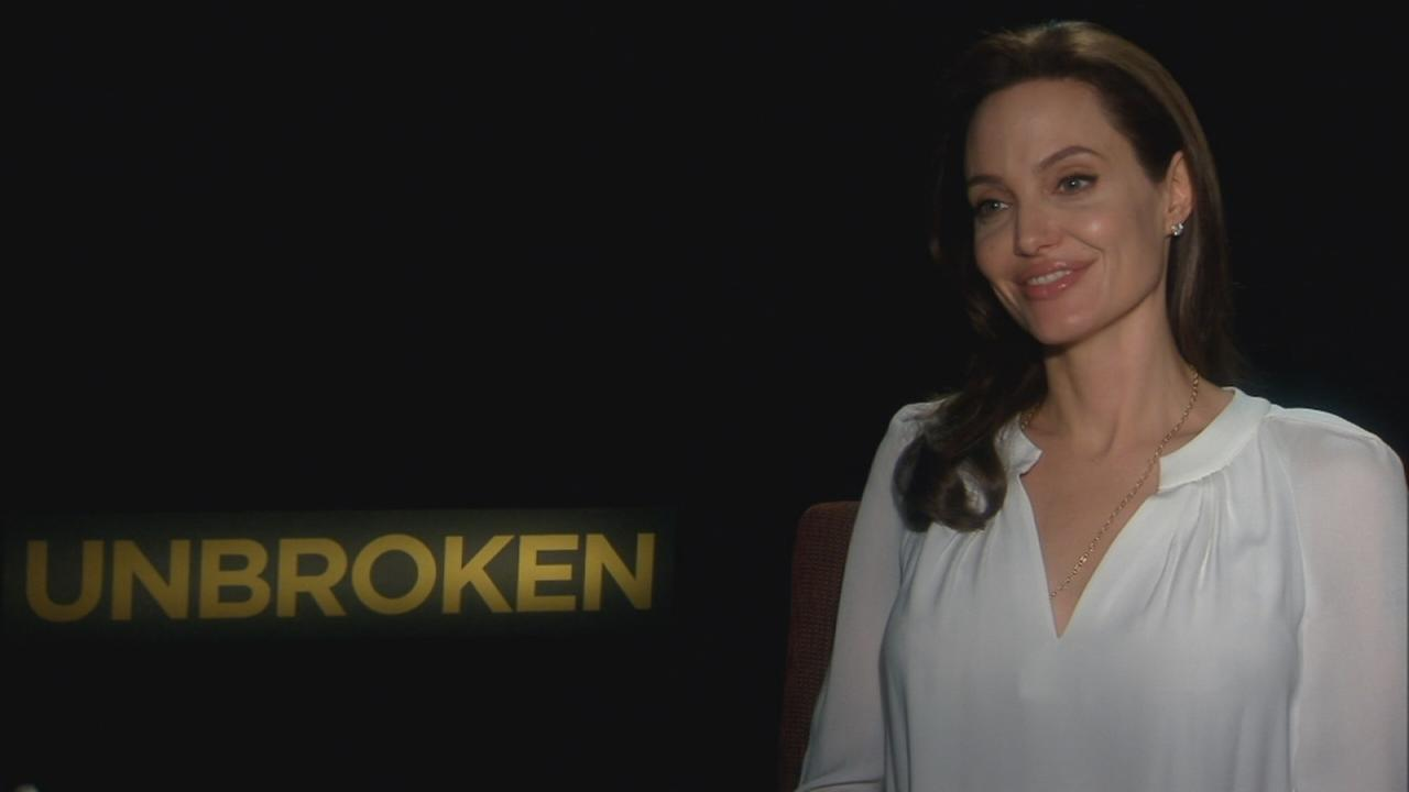 Sandy Kenyon sits down with Angelina Jolie