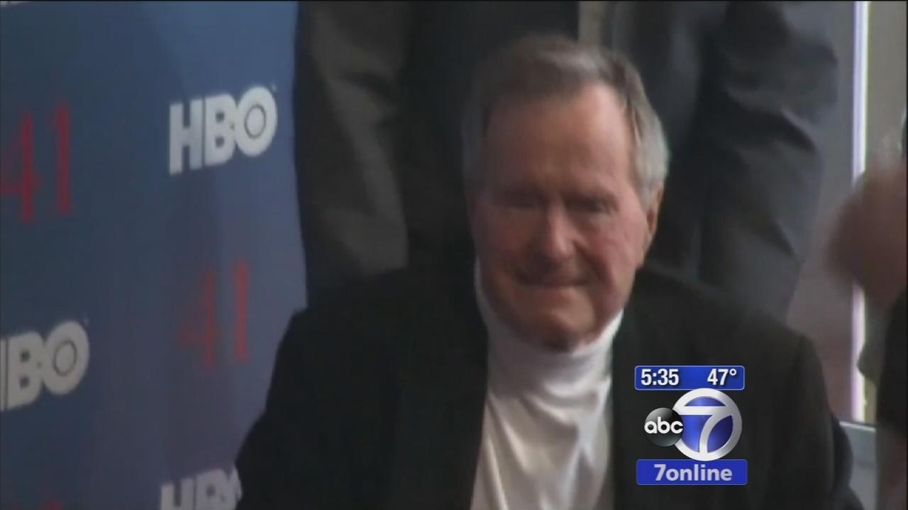Former President Bush doing great at hospital