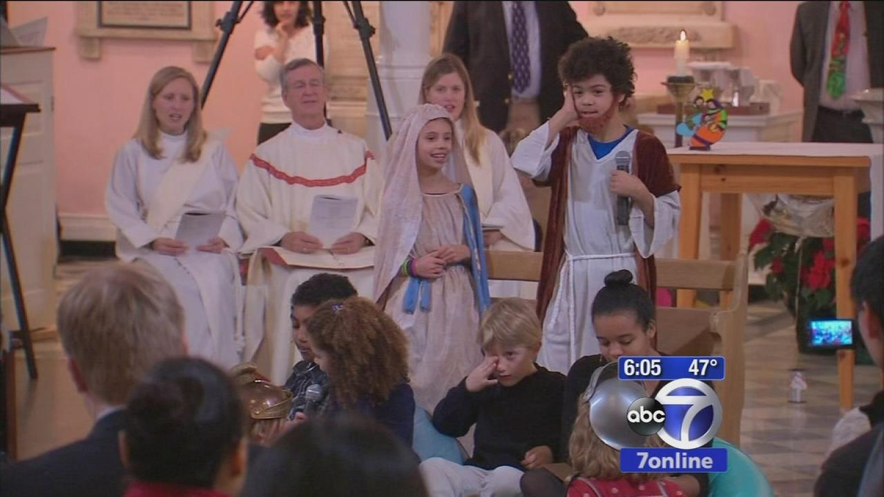 Some churches hold afternoon Christmas services
