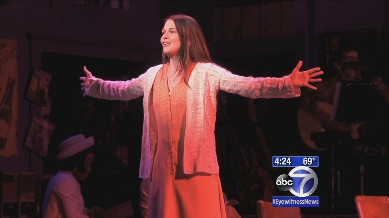 Sutton Foster nominated for third Tony for star turn in Violet