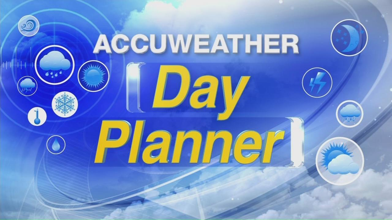 Day Planner for Saturday