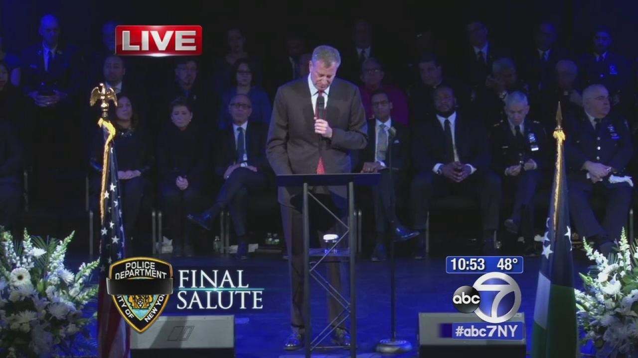 Mayor Bill de Blasio: Ramos as a peacemaker