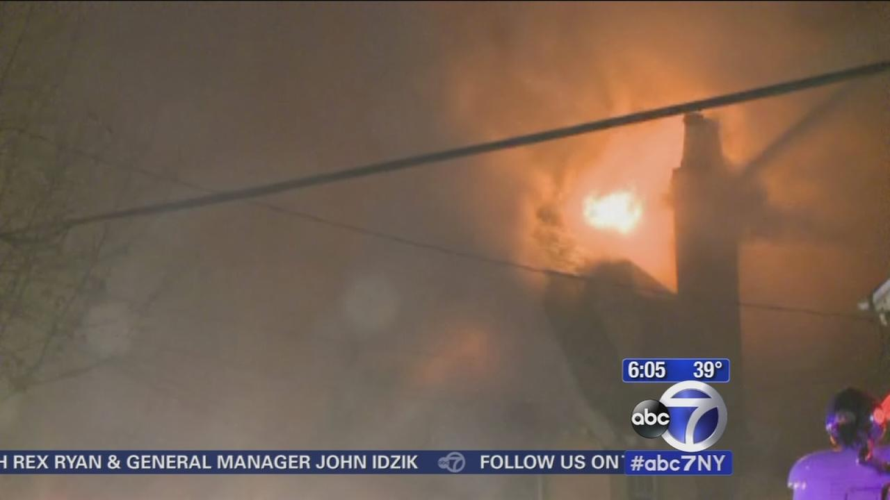 Fire tears through Sayreville home, 5 injured