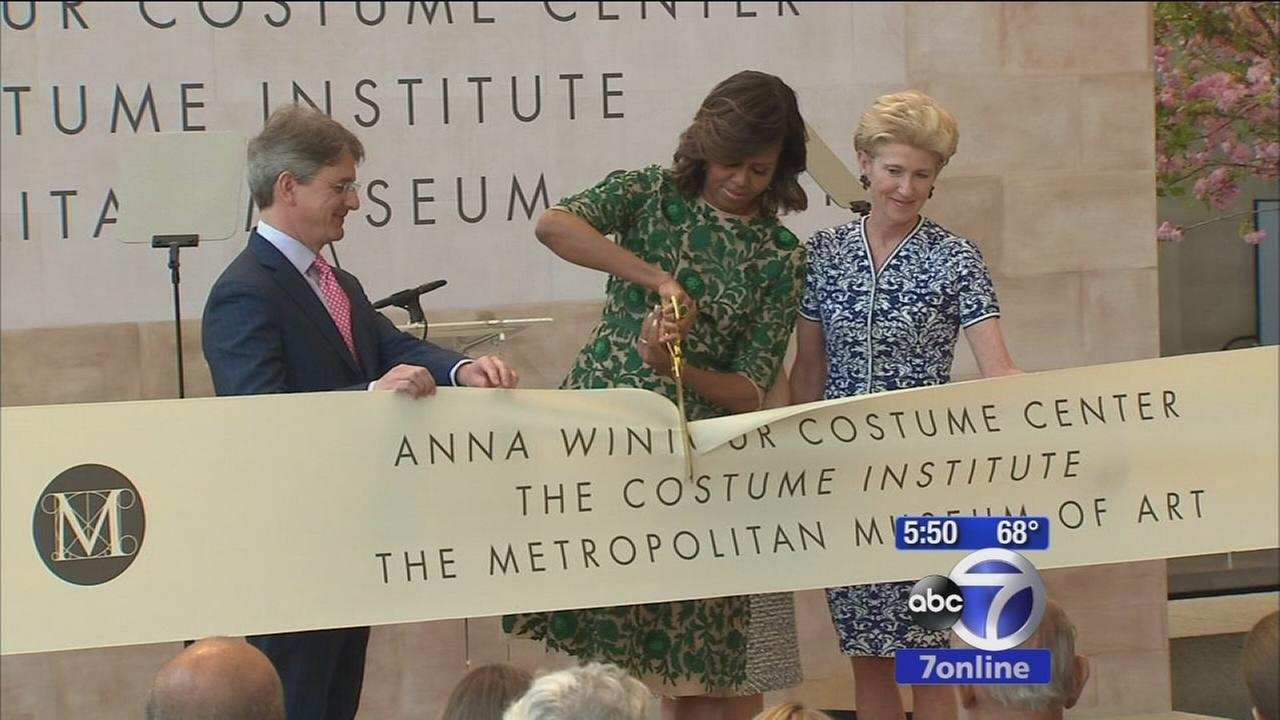 Anna Wintour honored with MET Costume Institute renaming