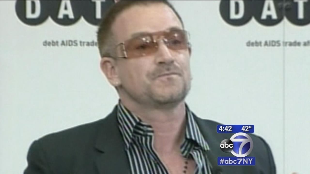 Bono says he may never be able to play guitar again