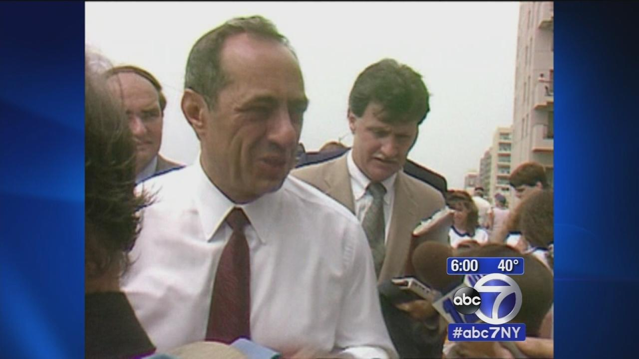 Politicians react to the death of former Governor Mario Cuomo