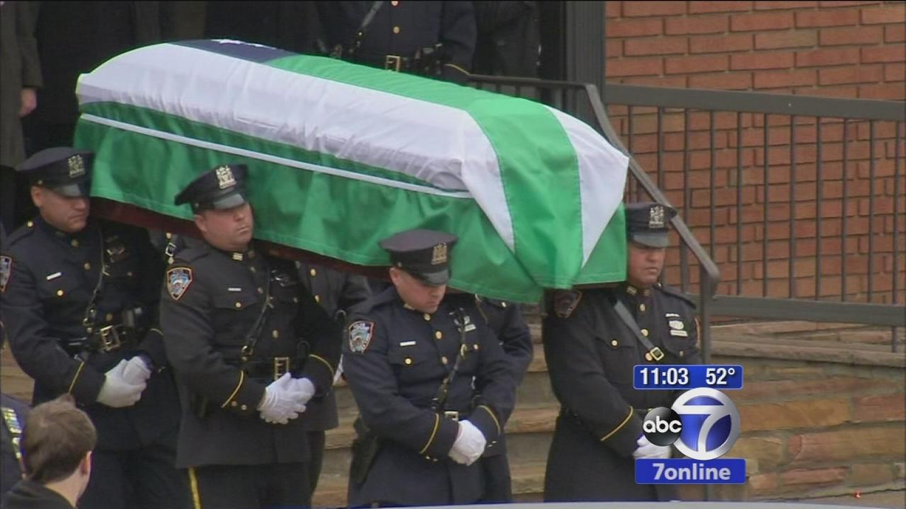 Officer Wen Jian Liu laid to rest in Brooklyn