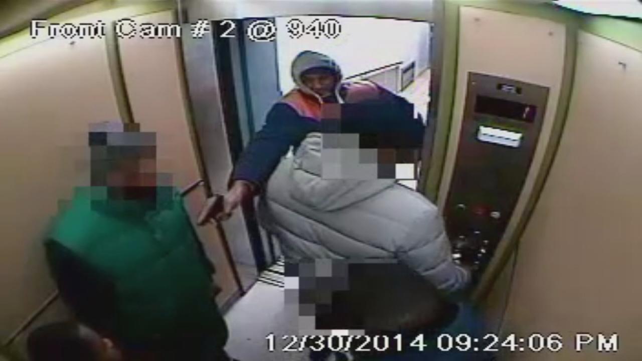 Brooklyn elevator shooting caught on camera
