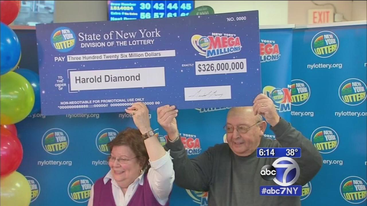Biggest jackpot winner in New York State history revealed