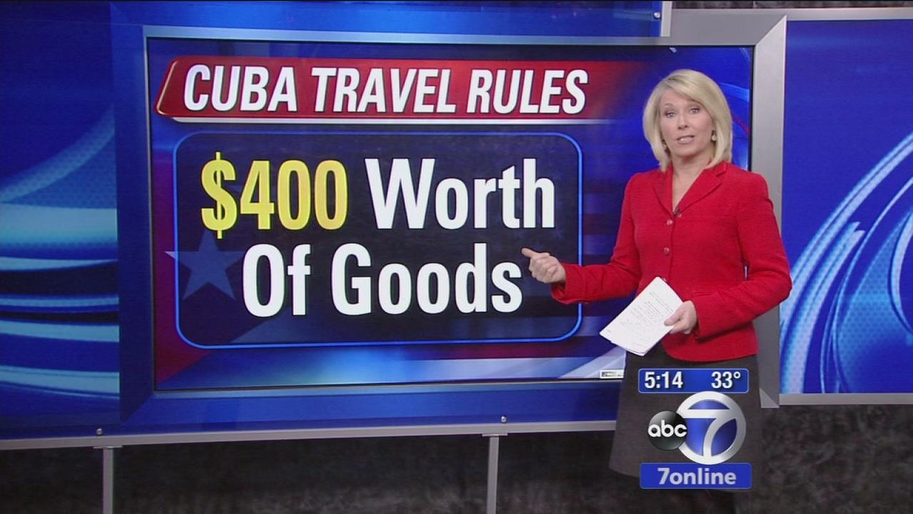 US eases Cuba travel rules
