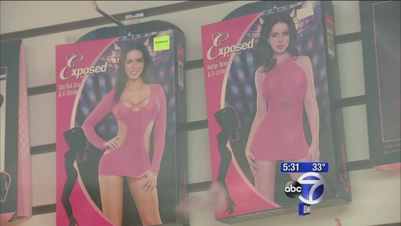Residents upset over sex shop near library