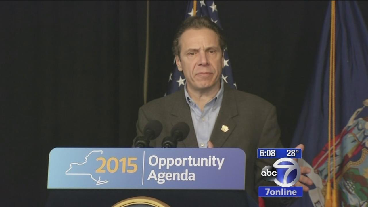 Governor Cuomo proposes sexua assault prevention legislation