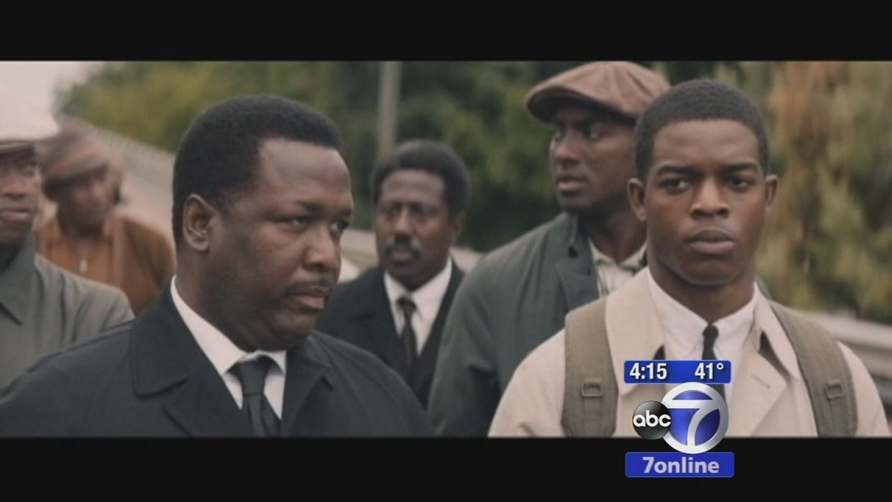 Cast, crew of Selma march in Alabama to remember MLK Jr.
