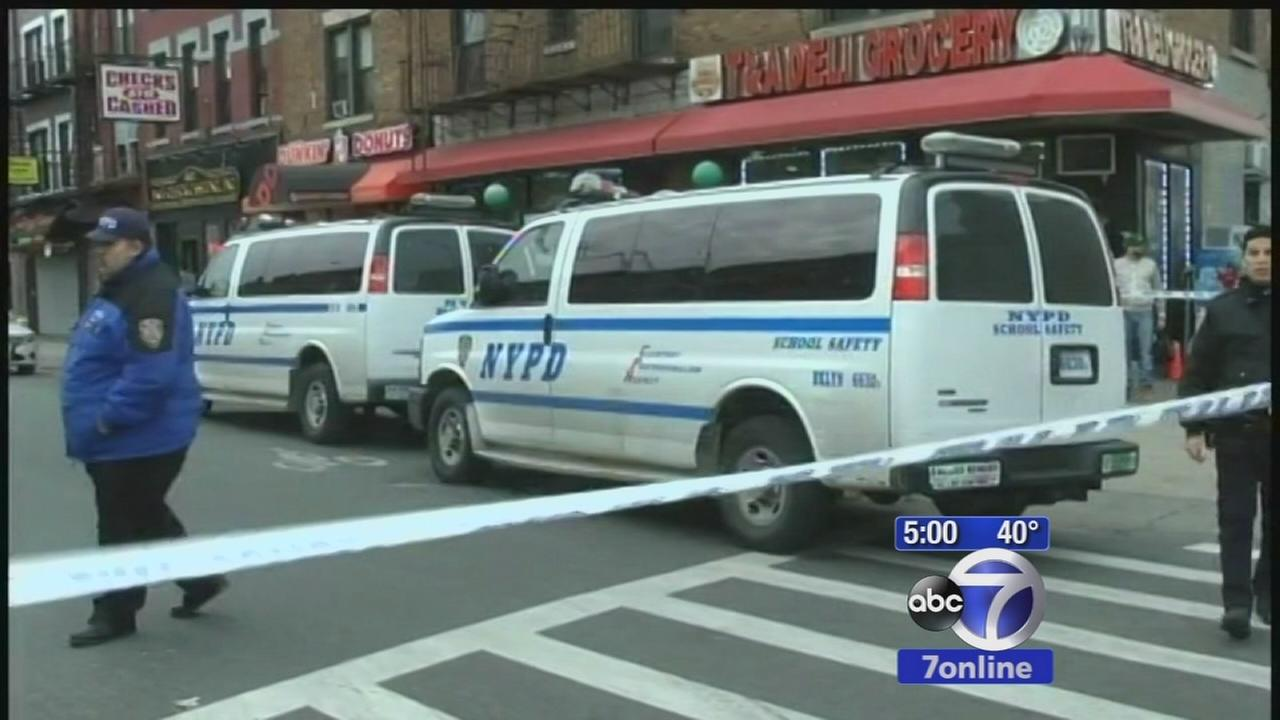 2 teens shot near Brooklyn school