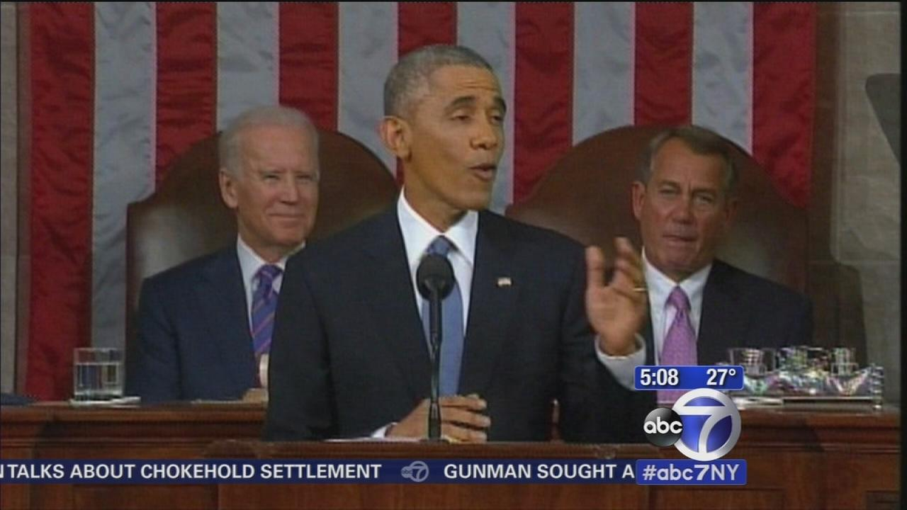 Obama unveils agenda at State of the Union, heads to Idaho